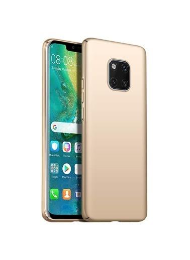 Microsonic Huawei Mate 20 Pro Kılıf Premium Slim  Altın
